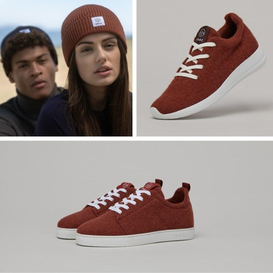 Sneakers UBAC légères en laine recyclé - de véritables pantoufles pour la ville