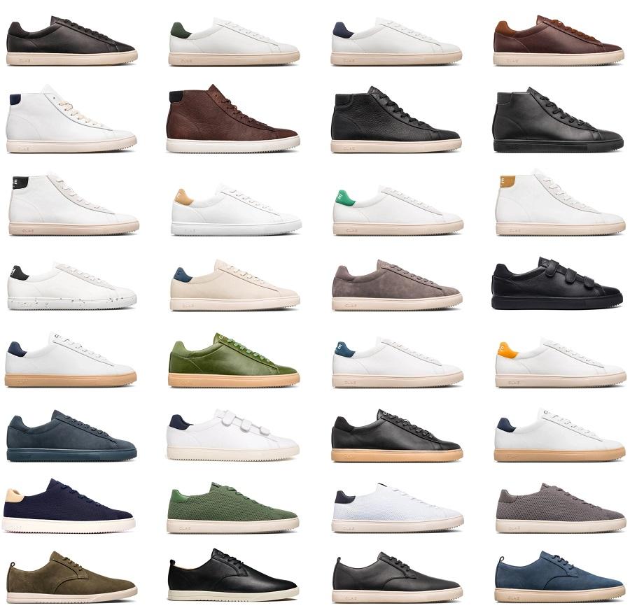CLAE, une jolie variété de sneakers toutes aussi élégantes les unes que les autres