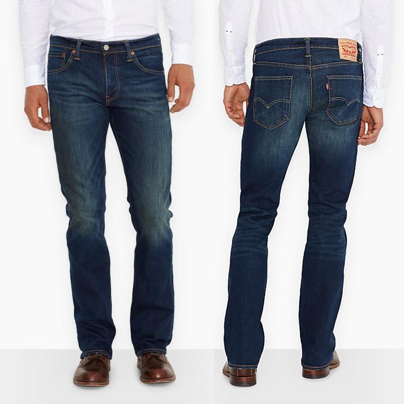 Jeans coupe bootcut pour homme