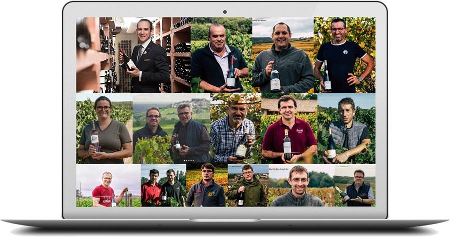 La sélection des vignobles et vignerons partenaires de Cuvée Privée