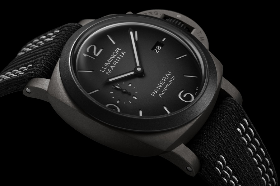 PANERAI // LUMINOR Marina Guillaume Néry