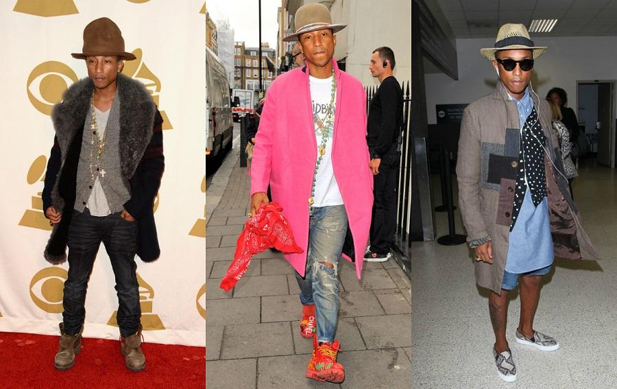 Pharrell Williams style