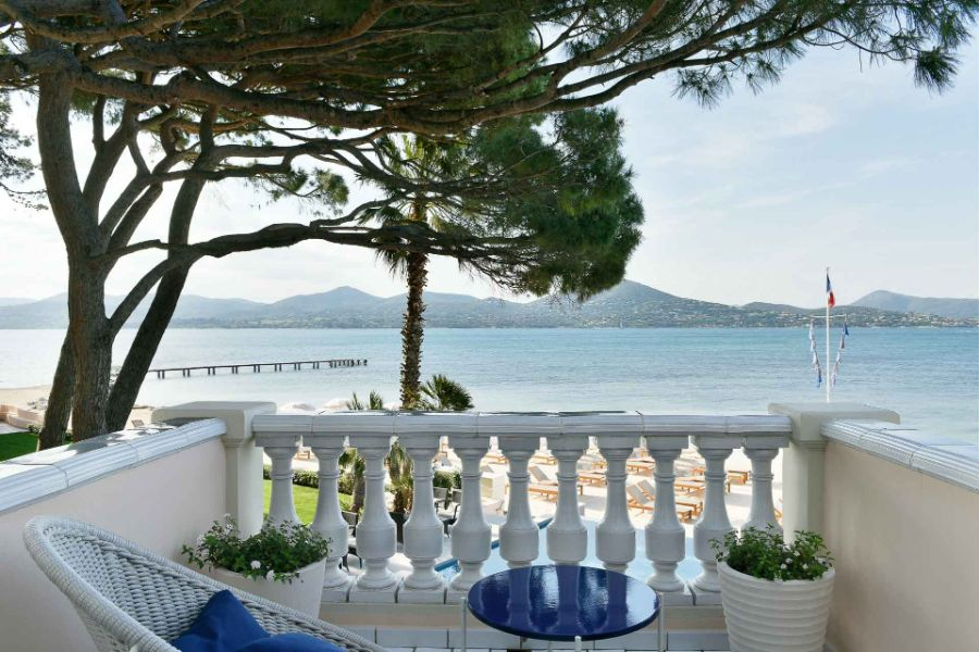 Terrasse suite de l'hôtel Cheval Blanc St-Tropez ©_V-Mati-0849