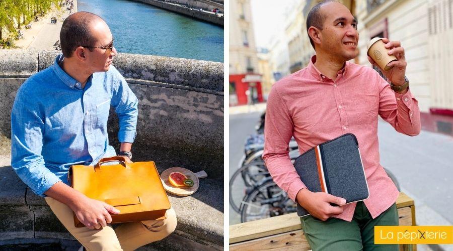 sacs homme pour une journée studieuse – Briefcase