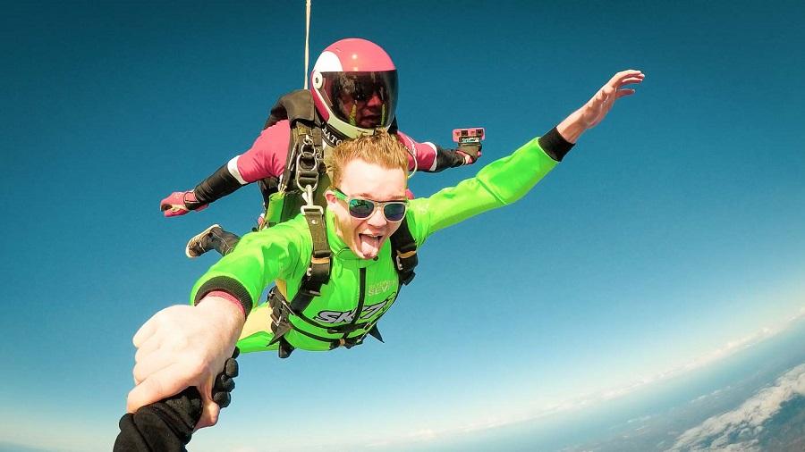 Bucketlist : sauter en parachute