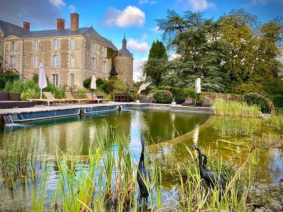 Château de l'Epinay - piscine naturelle