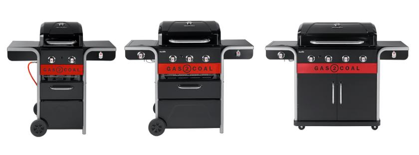 barbecue hybride Gas 2 Coal 2.0