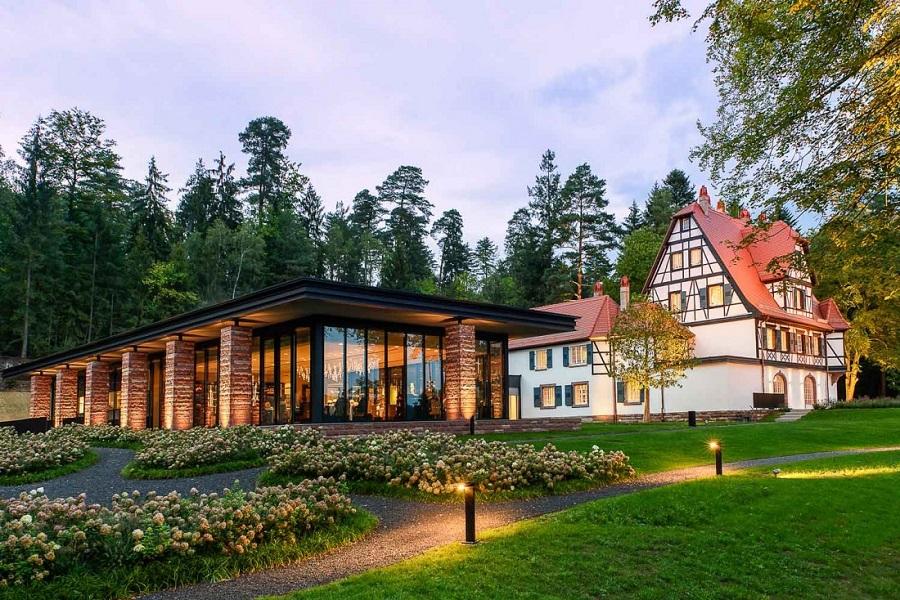 Villa René Lalique, Hôtel de luxe dans le village de Wingen-Sur-Moder