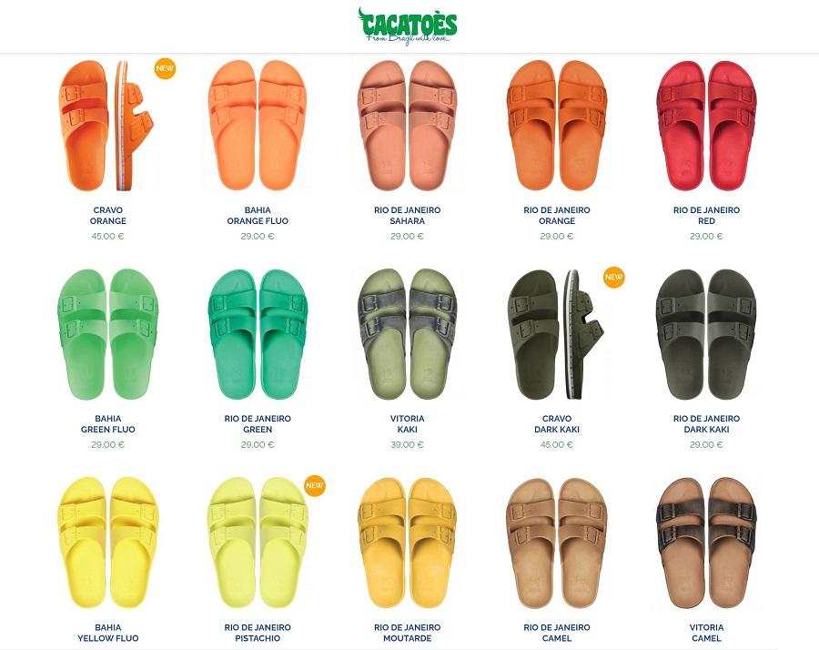 Cacatoès, La sandale parfumée au bubble gum