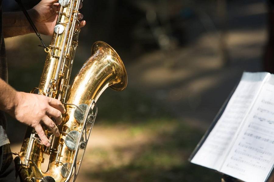 Saxophone apprentissage instrument de musique