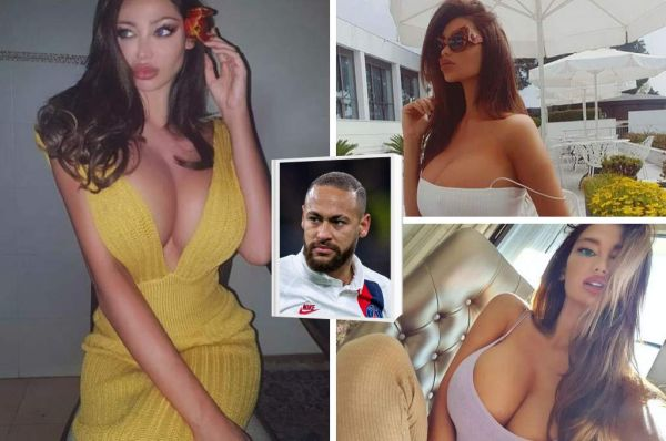 Neymar's girlfriend Soraja Vucelic