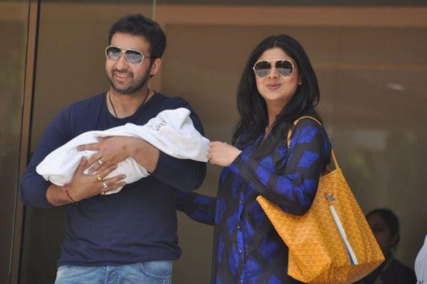 Shilpa Shetty names her son Viann Raj Kundra