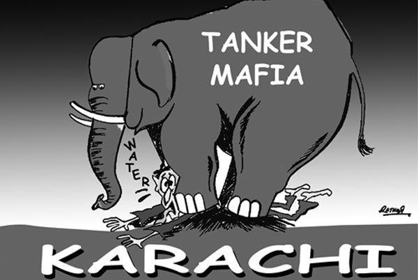 water mafia in karachi