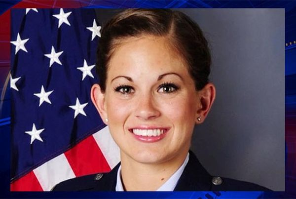 US Air Force Reserve Capt. Jamie Brunette