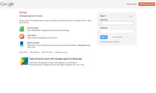 Gmail Public Domain