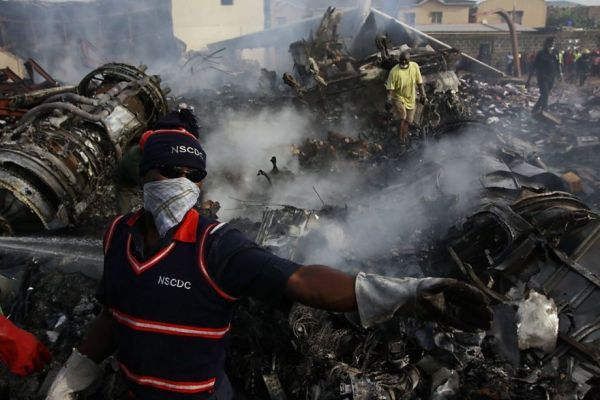 Nigerian air crash