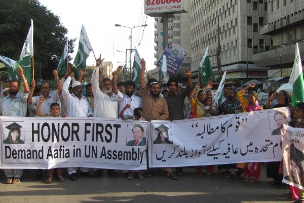 PM urged to raise Dr Aafia Siddiqui issue in United Nations