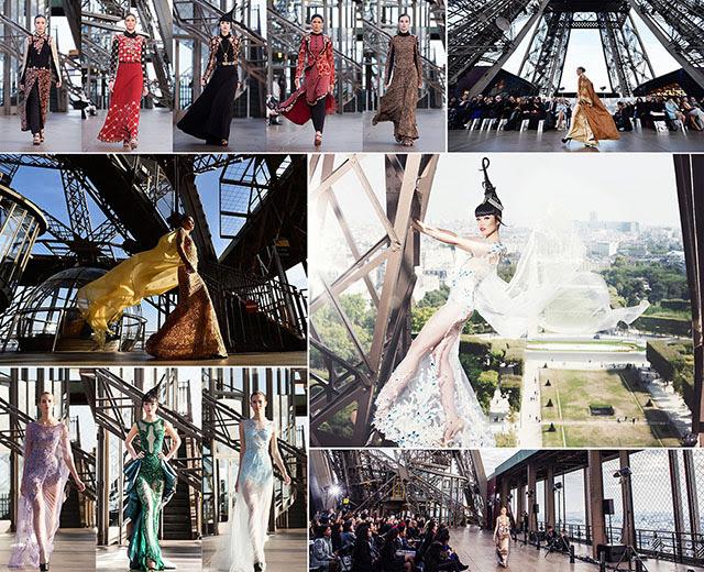 Jessica Minh Anh in Paris