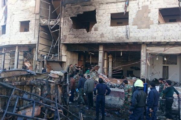Bomb attacks near Hazrat Zainab's shrine in Syria