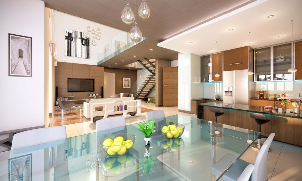 Sobha Group launches 'Sobha Hartland' in Dubai- Villa kitchen