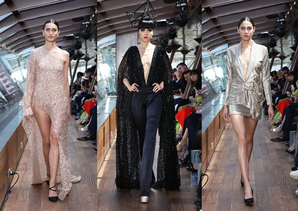 Pakistani Designer Syeda Amera Impressed Paris With Stunning Designs The Lahore Times