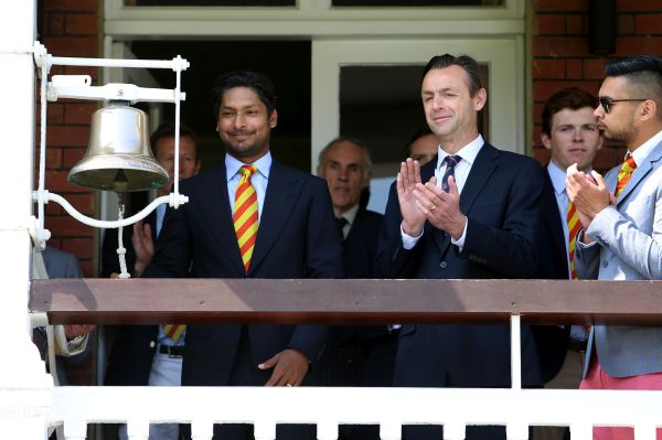 Kumar Sangakkara - Ringing of 5-minute bell fits well with Lords