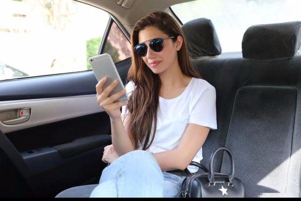 Mahira Khan - Uber's Rider Zero in Karachi