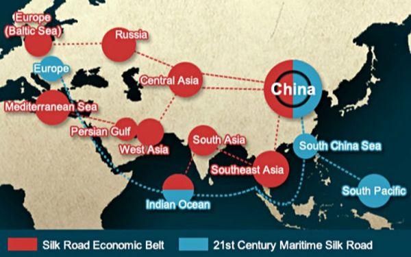 China's new silk roads