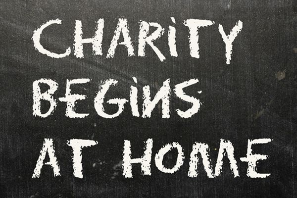 Charity begins at home - The Lahore Times