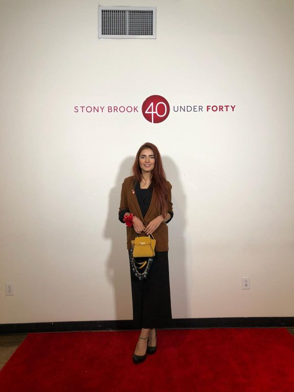Momina Mustehsan honoured at 40 Under Forty by Stony Brook University in the category of Civil Service and Activism - Photography by Natasha Jahangir