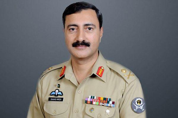Sindh Lieutenant General Shahid Baig Mirza