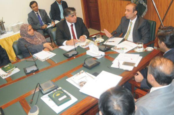 Chairman TEVTA Irfan Qaiser Sheikh