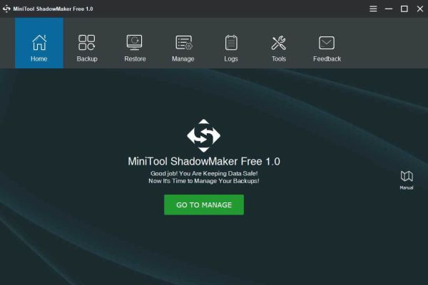 MiniTool ShadowMaker Free 1.0