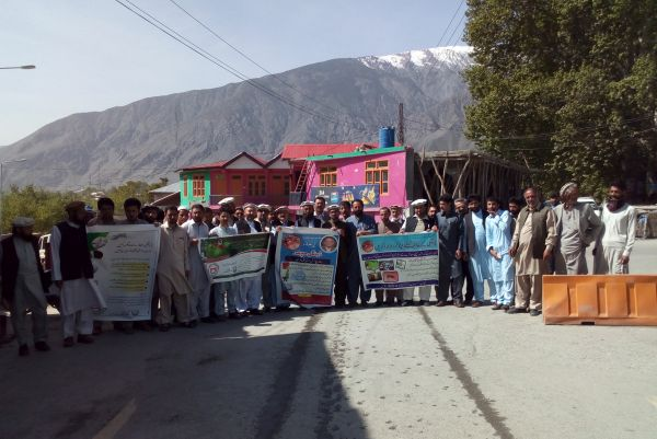 Chitral Walk regarding awareness campaign of Dengue mosquito to protect your selves from its biting and to save from this fever.