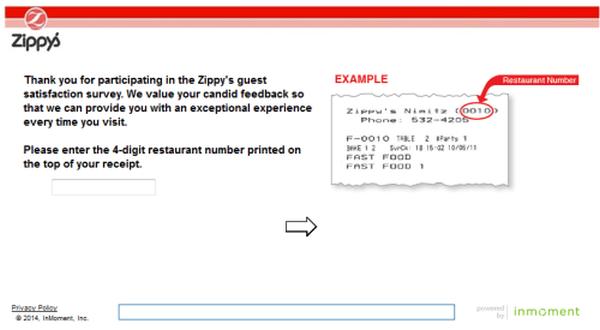 Zippy's Survey