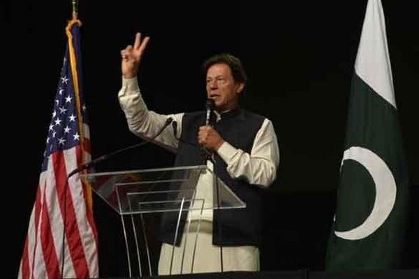 PM Imran Khan historic address in Washington