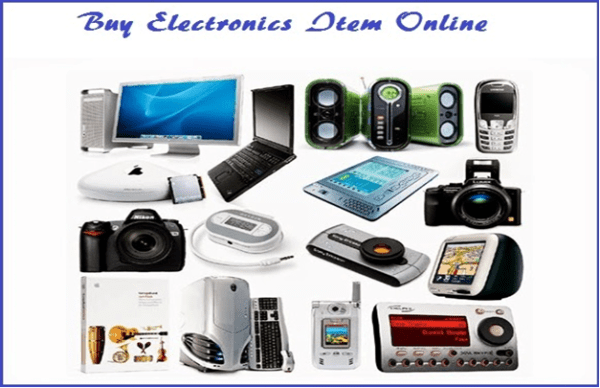 Buying Electronics Items Online