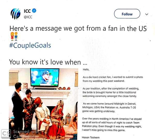 Cricket first, honeymoon can wait