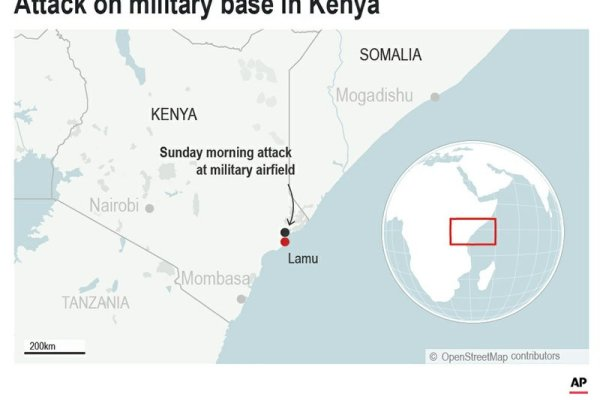 Extremists attack Kenya military base