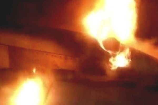 PIA grounded plane caught fire
