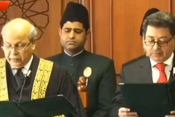 Sikander Sultan Raja takes oath as Chief Election Commissioner
