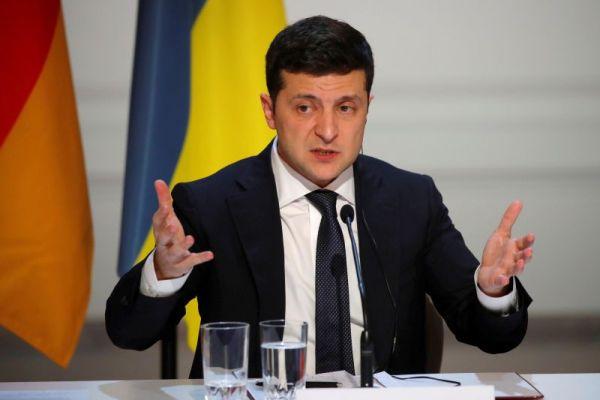 Ukraine's President Volodymyr Zelenskiy