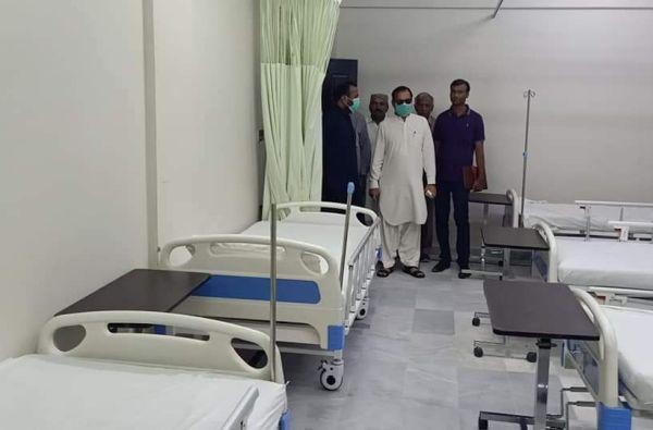 Dadu hospitals isolation ward