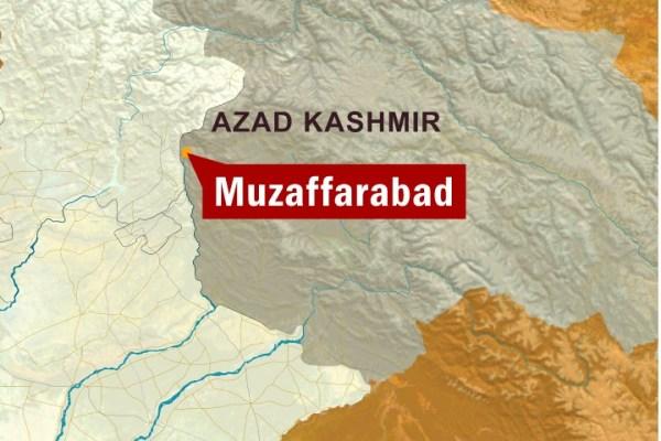 muzaffarabad map