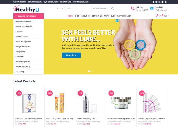 Healthyu.pk screenshot