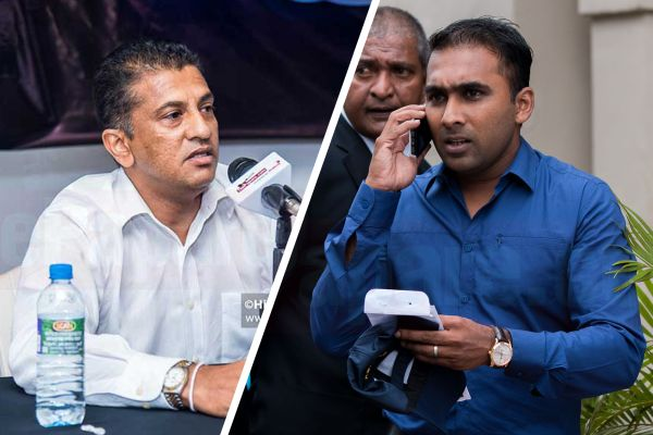 Roshan Mahanama and Mahela Jayawardene
