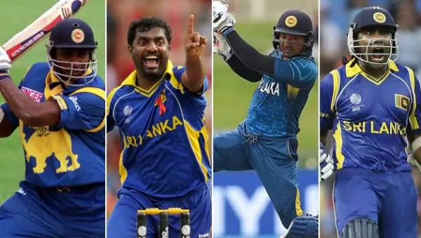 sri lankan cricketers