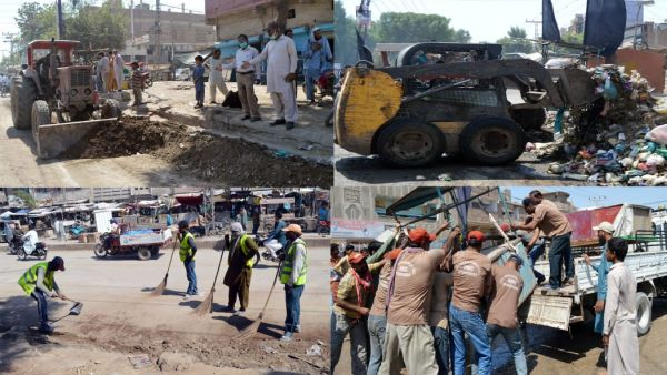 HMC begins sanitation work