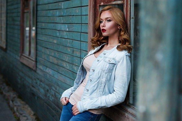 Girl Red Hair Makeup Denim - Free photo on Pixabay