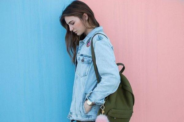 Woman Brunette Denim Jacket - Free photo on Pixabay